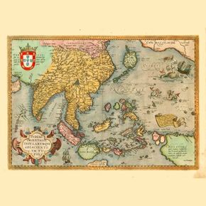 East Indies Art Indiae Orietnalis c.1589 ( Ortelius SEA )