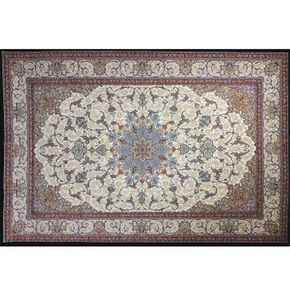 Pasargad Classic Persian Carpet Black Eva
